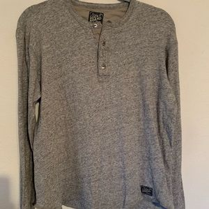 Lucky Brand knit long sleeve blouse size Medium